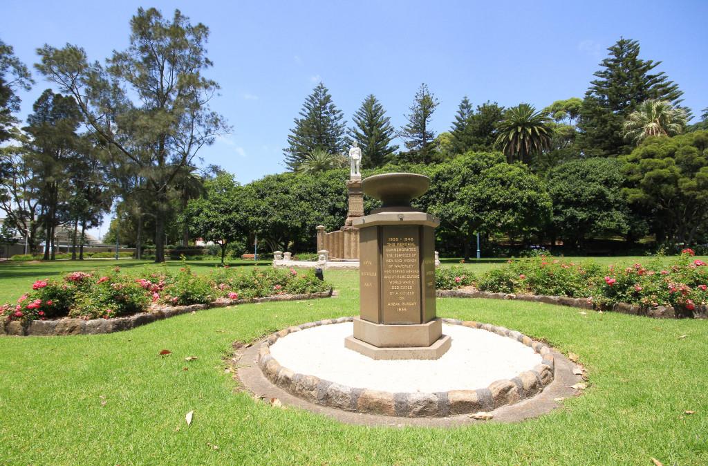 ANZAC Memorial Gardens - Waverley Park