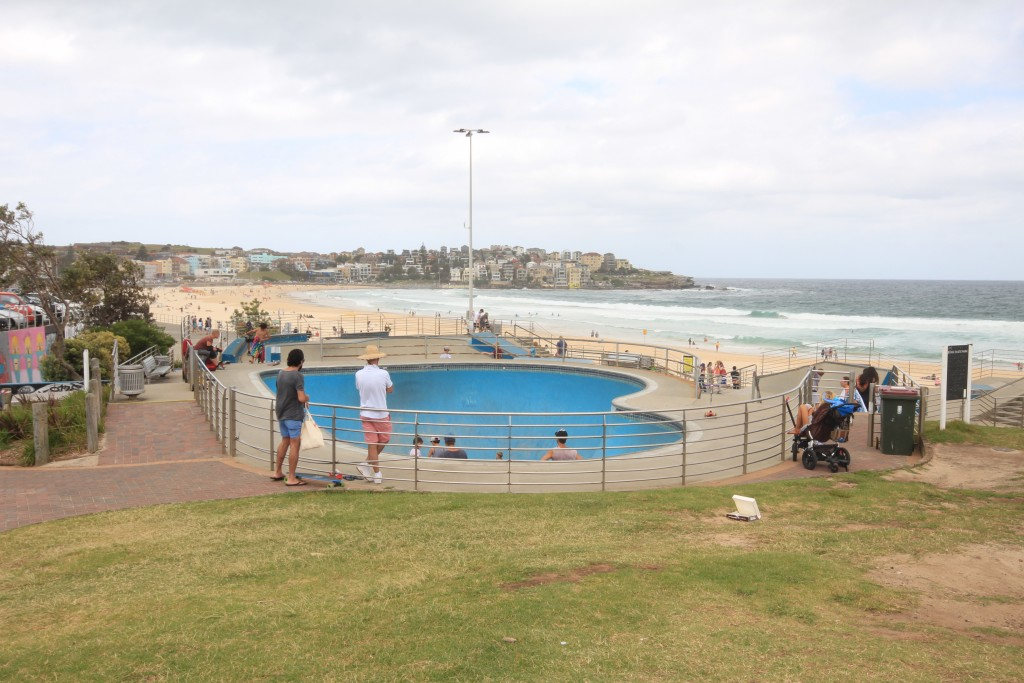 Bondi Beach skate park - use at your own risk!