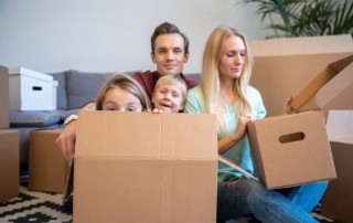 moving home with Hire A Mover